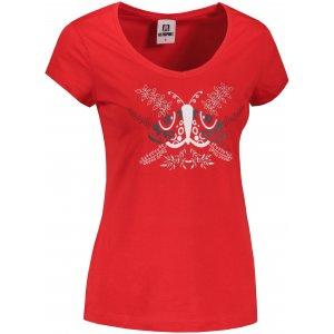 Dámské triko ALTISPORT ALW124162 ČERVENÁ