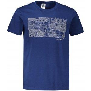 Pánské triko ALTISPORT ALM120129 PŮLNOČNÍ MODRÁ