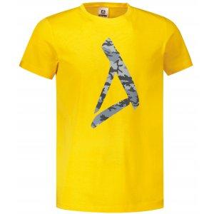 Pánské triko ALTISPORT ALM121129 ŽLUTÁ