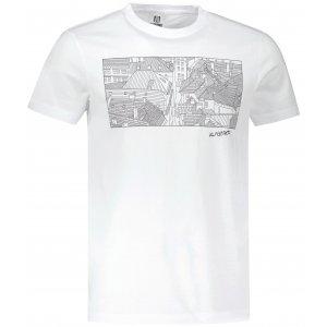 Pánské triko ALTISPORT ALM120129 BÍLÁ