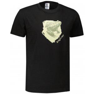 Pánské triko ALTISPORT ALM117129 ČERNÁ