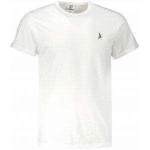 Pánské triko ALTISPORT ALM002163 BÍLOČERNÁ