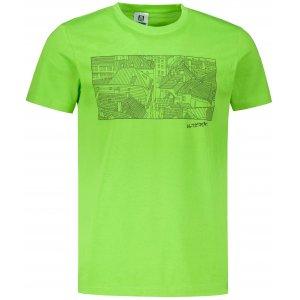 Pánské triko ALTISPORT ALM120129 APPLE GREEN
