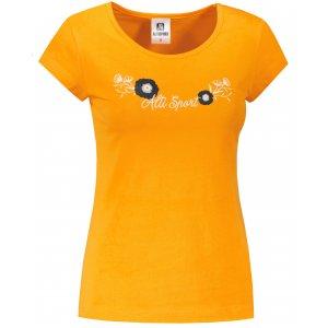 Dámské triko ALTISPORT ALW116122 TANGERINE ORANGE