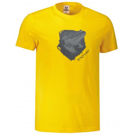 Pánské triko ALTISPORT ALM117129 ŽLUTÁ