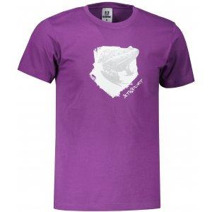Pánské triko ALTISPORT ALM117129 FIALOVÁ