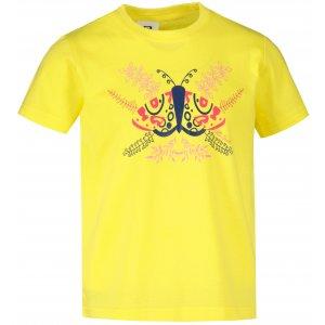 Dětské triko ALTISPORT ALK124138 CITRÓNOVÁ