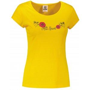 Dámské triko ALTISPORT ALW116122 ŽLUTÁ