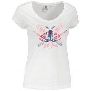 Dámské triko ALTISPORT ALW124162 BÍLÁ