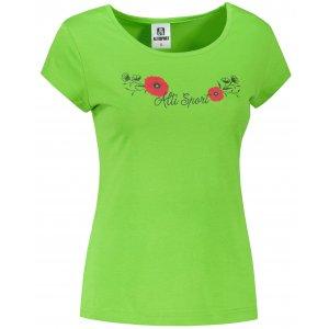 Dámské triko ALTISPORT ALW116122 APPLE GREEN