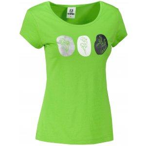 Dámské triko ALTISPORT ALW119122 APPLE GREEN