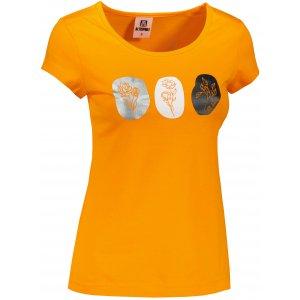 Dámské triko ALTISPORT ALW119122 TANGERINE ORANGE