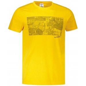 Pánské triko ALTISPORT ALM120129 ŽLUTÁ