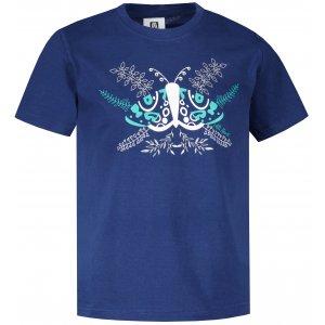 Dětské triko ALTISPORT ALK124138 PŮLNOČNÍ MODRÁ