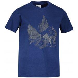 Dětské triko ALTISPORT ALK123138 PŮLNOČNÍ MODRÁ