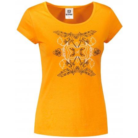 Dámské triko ALTISPORT ALW125122 TANGERINE ORANGE
