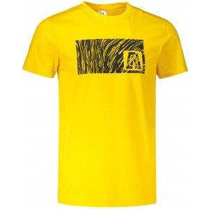 Pánské triko ALTISPORT ALM126129 ŽLUTÁ