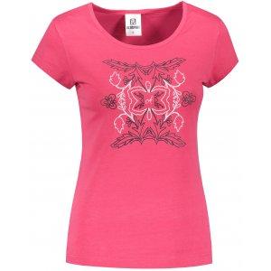 Dámské triko ALTISPORT ALW125122 PURPUROVÁ