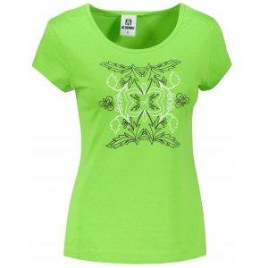 Dámské triko ALTISPORT ALW125122 APPLE GREEN