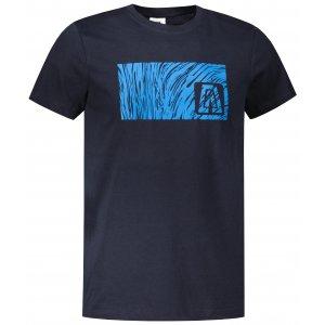 Pánské triko ALTISPORT ALM126129 NÁMOŘNÍ MODRÁ