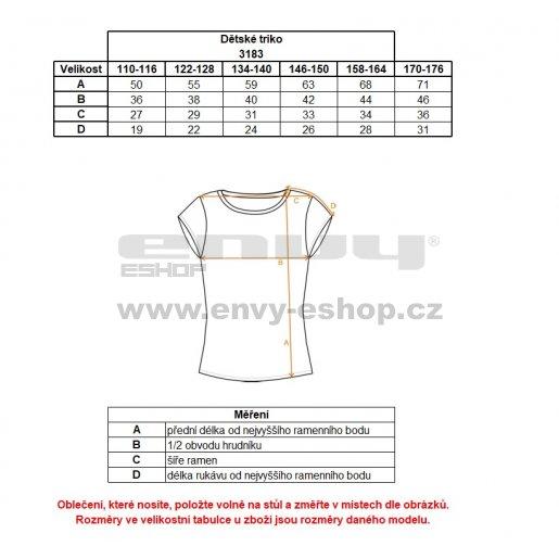 Dívčí triko NORDBLANC NBSKT3183S ČERNÁ 110-140