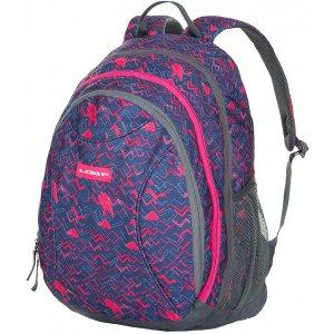 Školní batoh LOAP SHAW BD1530 TMAVĚ FIALOVÁ