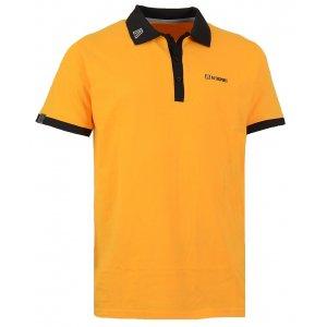 Pánské triko s límečkem ALTISPORT SORSAK ALMW15069 ŽLUTÁ