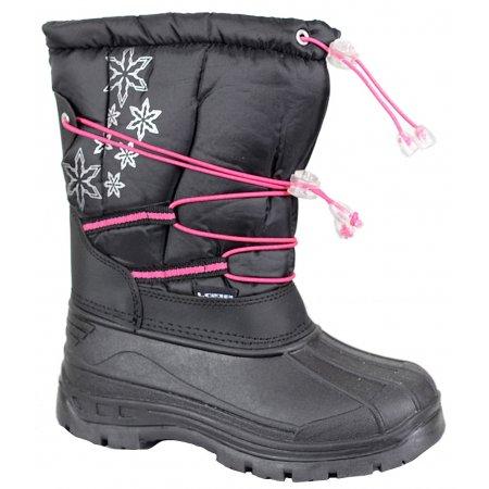 Dětské zimní sněhule LOAP ASTRAY HSK14157 ČERNÁ