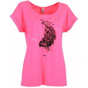 Dámské tričko NORDBLANC GIRAFFE NBSLT5049 KNOCKOUT RŮŽOVÁ