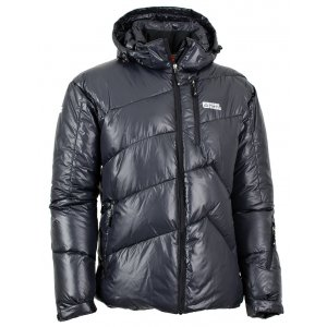 Pánská zimní bunda NORDBLANC ELAN NBWJM5311 ČERNÁ