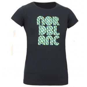 Dětské triko NORDBLANC NBFKT3964S ČERNÁ 110-140