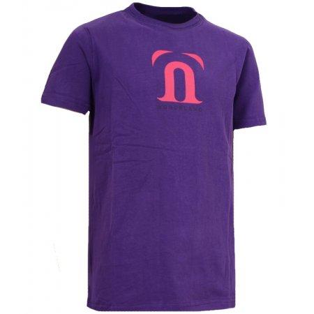 Dětské triko NORDBLANC GALE NBFKT3403S FIALOVÁ 110-140