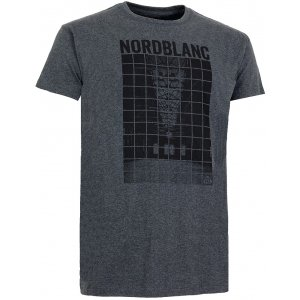 Pánské tričko NORDBLANC FREESTYLE NBSMT5100 GRAFITOVÝ MELÍR