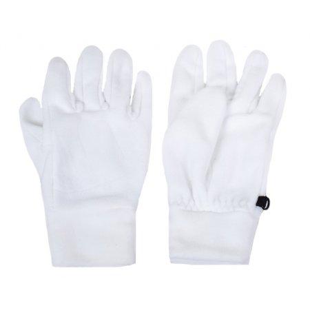 Zimní rukavice fleece UNI NORDBLANC GILDE NBWG3350 BÍLÁ
